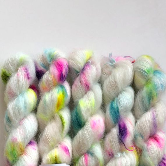 Sysleriget Silk Mohair Unicorn Party
