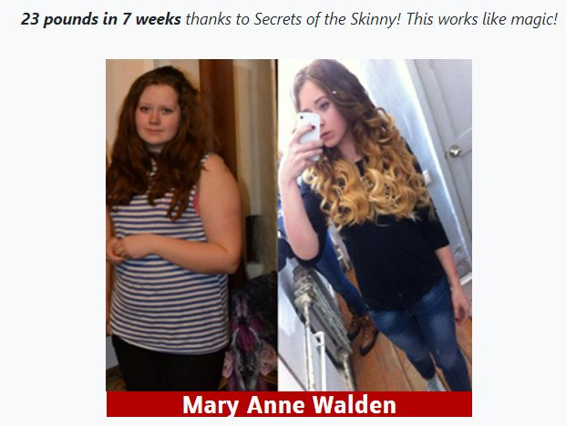 secrets of the skinny reviews