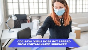 CDC Says 'Virus Does Not Spread From Contaminated Surfaces'