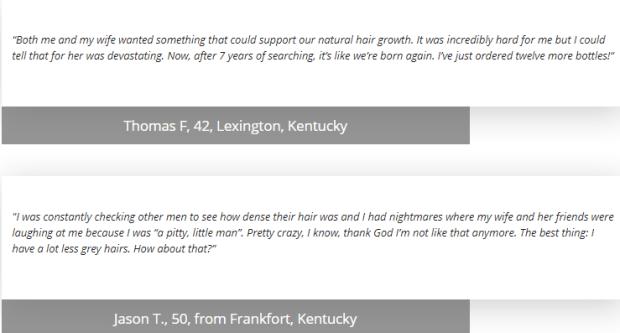 Hair Fortin customer reviews