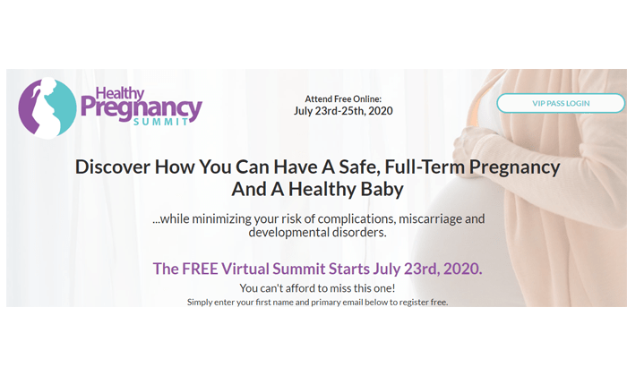 Healthy Pregnancy Summit Review