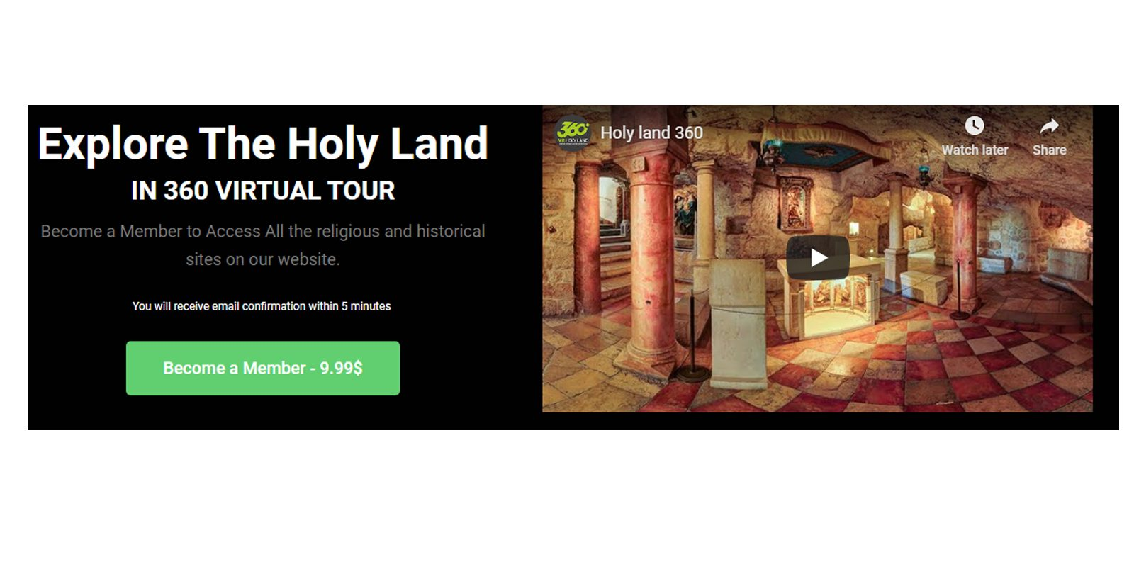 Holy Land 360 Review