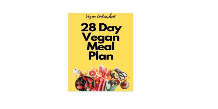 28 da vegan meal plan