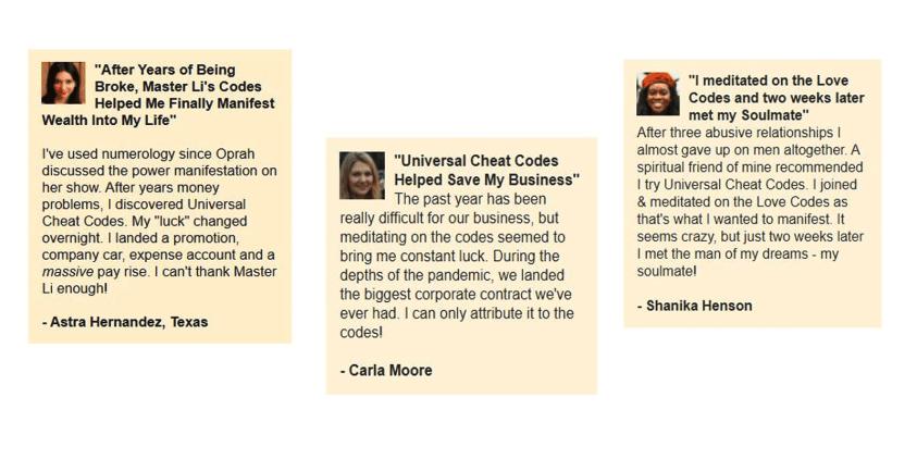 Master-Li's-Universal-Cheat-Codes-Customer-Reviews