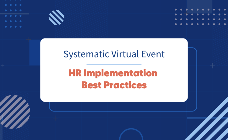 Systematic Meetup: HR Implementation Best Practices-image