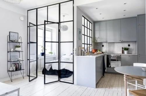 Интерьер Маленькой Кухни в Скандинавском Стиле - оформление и дизайн