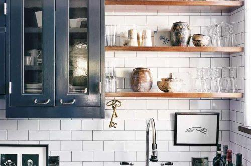 Маленькая Кухня в Загородном Доме ФОТО