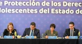 Firman convenio el DIF y el Poder Judicial a favor de las Niñas, Niños y Adolescentes