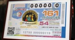 Emite la Lotería Nacional Billete sobre la Cabalgata de Reyes de Irapuato.