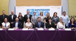 Presentan Diputados del PAN  su Agenda para el 2020