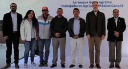 Inicia el Programa de Trabajadores Agrícolas Temporales México-Canadá