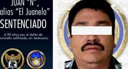 """""""El Juanelo"""", a 90 años de cárcel por matar al Alcalde electo Rogelio Sánchez Galán"""