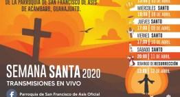 Semana Santa 2020 en Acámbaro