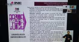 Garantiza el INE el derecho  al voto de las personas con discapacidad