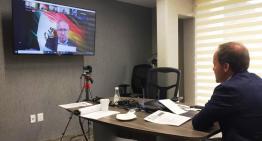 Realizan el 1er Foro Virtual  de cooperación internacional para la reactivación económica