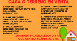 CASA Ó TERRENO ¡¡¡EN VENTA!!!