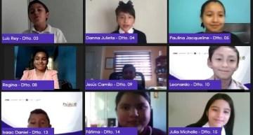 Legisladores Infantiles de Guanajuato  se pronuncian por la paz, la educación y la no violencia
