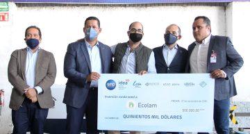 Recibe la Starup guanajuatense Ecolam,  fondo de inversión extranjera