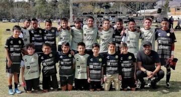 En la Liga MX, los infantiles de los  Dorados de Sinaloa se preparan para el Torneo 2021