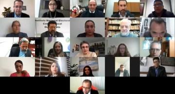 Firma SEG convenio  con el INE y el IEEG para las elecciones 2021