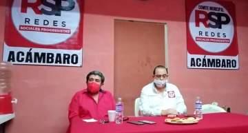 Filemón Gómez Machuca por el Partido de las Redes Sociales Progresistas