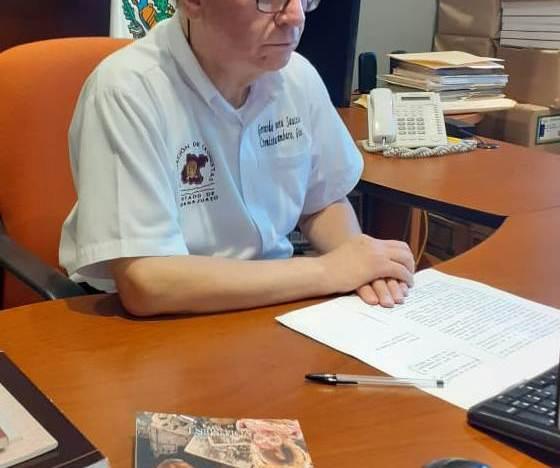 """En forma virtual, presentan el libro """"Efemérides de los Municipios de Guanajuato"""""""