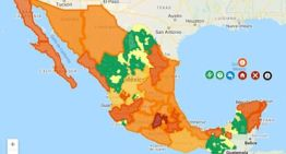 Hay 697 municipios del país sin decesos,  debido a la pandemia del COVID-19