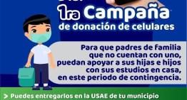 Inicia campaña de donación de celulares  en la región sureste de Guanajuato