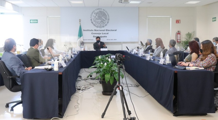 Presentan el avance  en la organización de la Jornada Electoral
