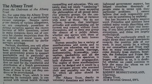 l'Albany Trust