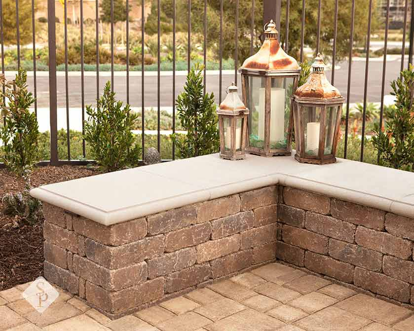 for sitting walls in your backyard design