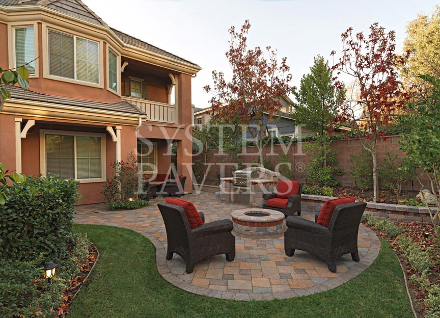 Fire Pits: Outdoor Backyard & Patio Fire Pit Solutions on Paver Patio Designs With Fire Pit id=53902