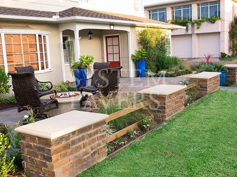 custom stone retaining wall design