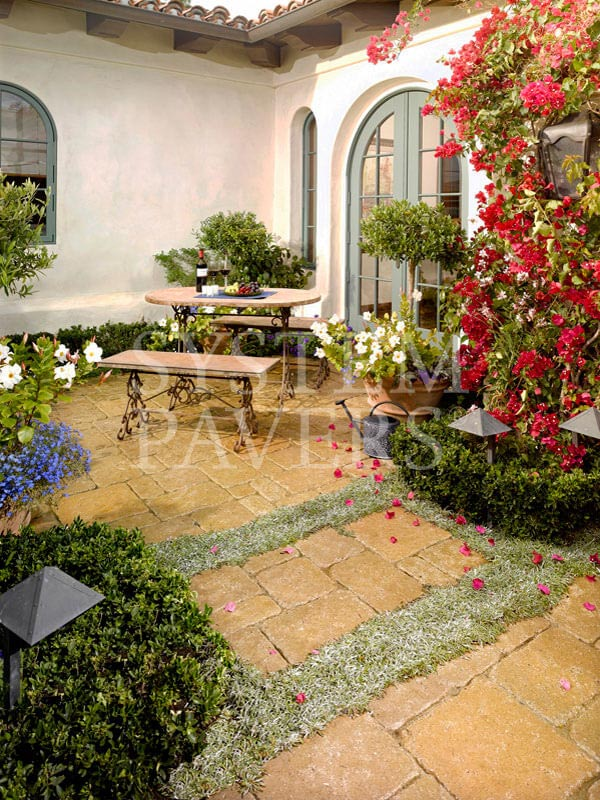 Patio Pavers: Backyard Pavers & Elegant Patio Solutions on Courtyard Patio Ideas id=83906