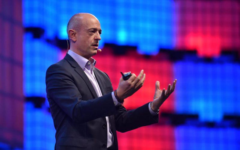 Simon Segars, CEO of ARM. Credits: David Fitzgerald / Web Summit