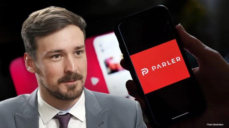 John Matze, founder of Parler. Credits: Fox Business