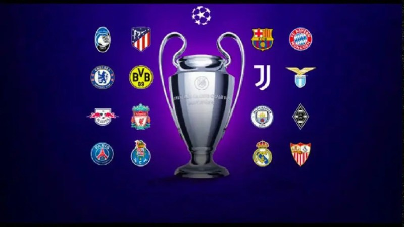 The list of clubs present in the round of 16 of the Champions League 2020-2021