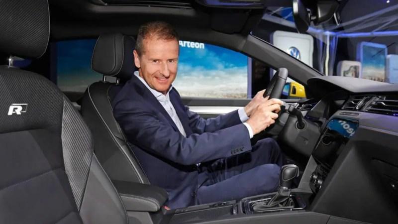 Volkswagen CEO Herbert Diess. Credits: Motor1