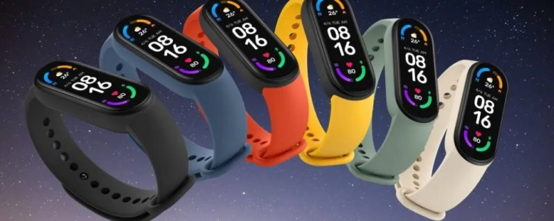 Mi Smart Band 6 in all its colors. Source: Telefonino.net