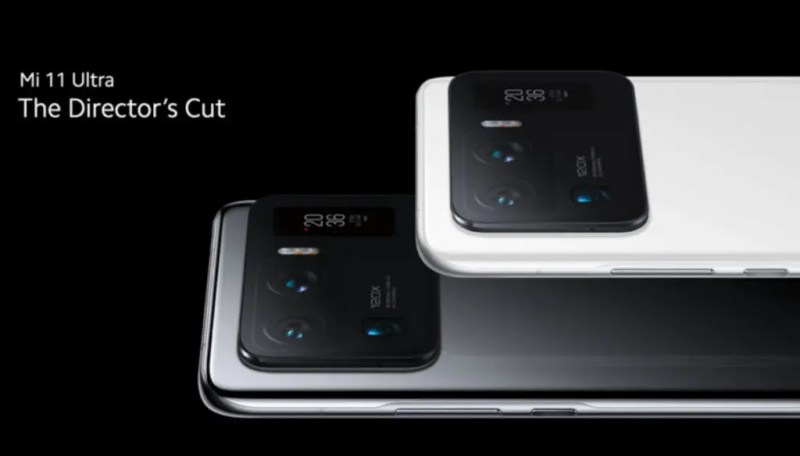 The Xiaomi Mi 11 Ultra in a promotional image. Source: Free Technology