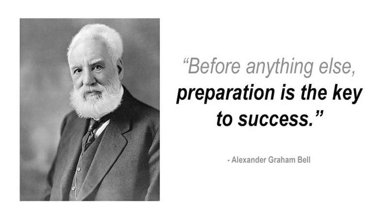 Plan for CompTIA exam success Before anything else preparation is the key to success - Alexander Graham Bell