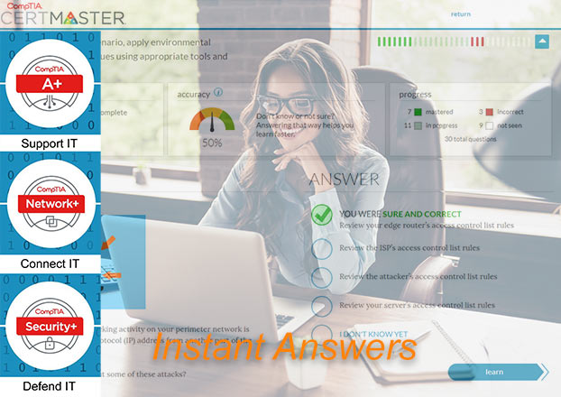 CertMaster Practice Instant Answers