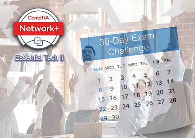 Exam pace to learn and retain the information needed to pass CompTIA Network+ N10-007 Exam