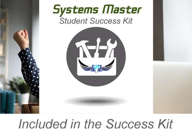 CertMaster Practice included in Systems Master Student Success Kit