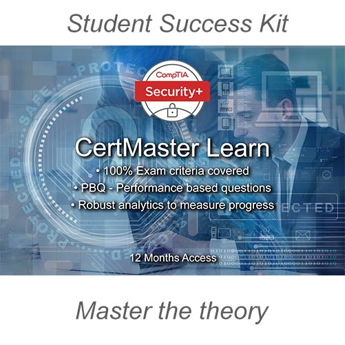 CompTIA Secirity+ CertMaster Learn Master the theory