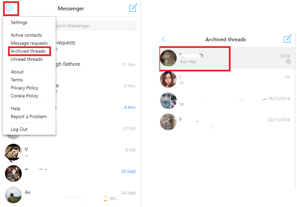Recover Deleted Texts Via Unarchiving Messages step-4