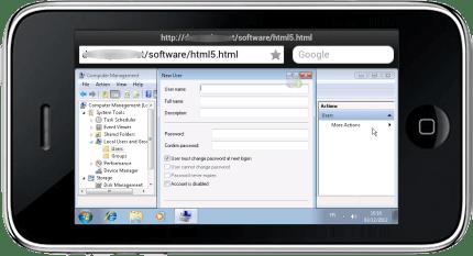 Cliente HTML5