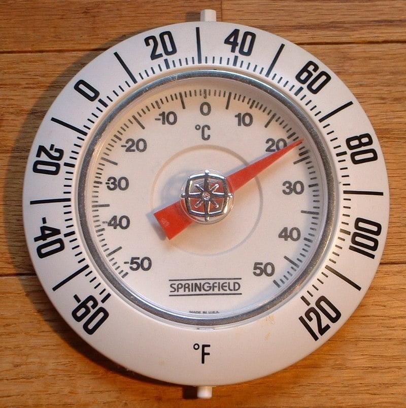 Fahrenheit Scale vs Celsius Scale