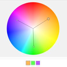 Die Triade, Ein Klassiker der Farbschemata