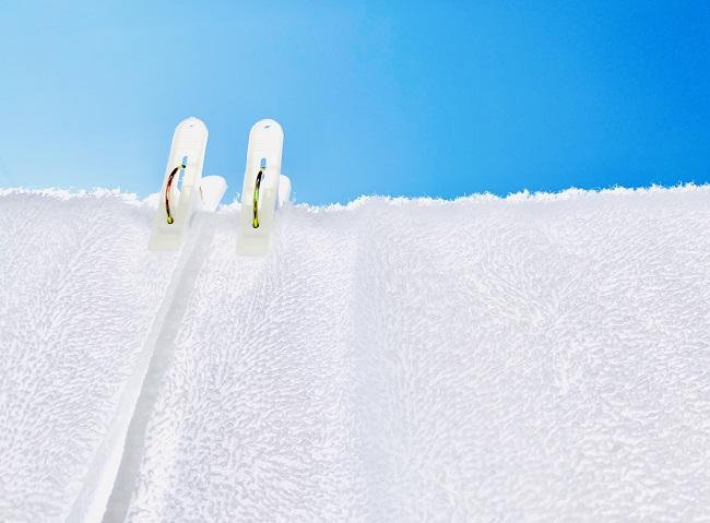 タオルの臭いを簡単に消す方法